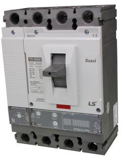 MCCB LS Electric 160-400A 65kA Electronic 4P