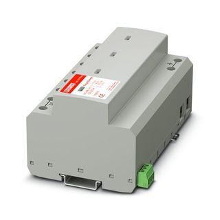 Surge Arrestor 100kA - Replaceable Plug Alarm 3P-N