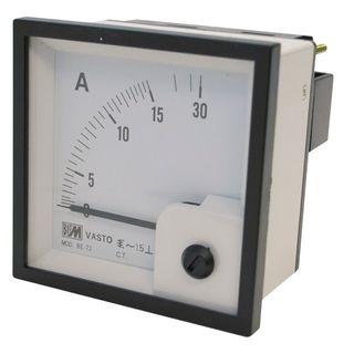 Ammeter 5A CT 96mm x 96mm