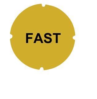 Hoist Button Label Cap 22mm Fast