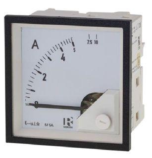 Ammeter 5A CT 72mm x 72mm