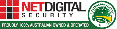 NetDigital Security - Proudly 100% Australia owned and operated.