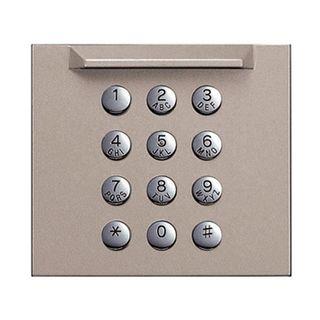 AIPHONE, GT Series, Digital keypad panel, Front cover panel to suit GT10K digital keypad module