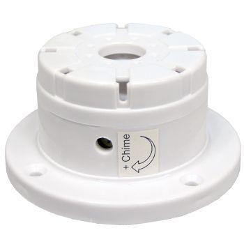 NETDIGITAL, Screamer, Internal top hat, 12V DC, Ding dong (Chime) sounder, 110dB (screamer), 75 - 95dB (chime),
