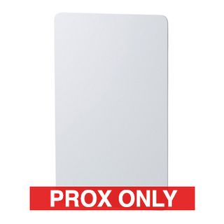 BOSCH, Proximity card, ISO, Prox only, For use with Bosch PR100 (Solution 64) and PR111B (Solution 6000) legacy proximity readers