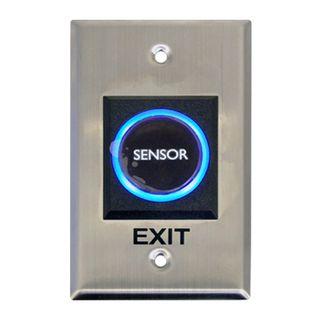 NETDIGITAL, IR Sensor Exit Plate, Size - Plate 70mm x 115mm. - Sensor 30mm Diameter, 100mm sensor range, IP55, 12V DC