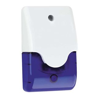 NETDIGITAL, Mini siren strobe combination unit, High intensity xenon strobe, Rectangular shape, 122 x 73 x 40mm, 100dB at 100cm, 9-15V DC
