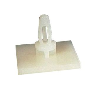 NETDIGITAL, PCB support, Self adhesive, 20mm x 20mm base, 6.4mm height, Requires 4mm PCB hole, bag of 10