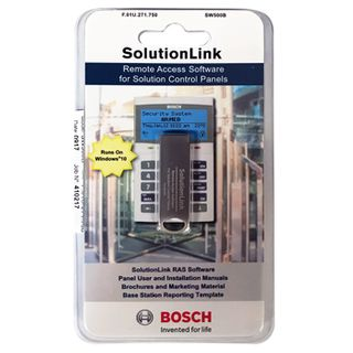 BOSCH, Solution Link, RAS programming software on USB, suits Solution 6000, 144, 64, 16+, 16i panels.