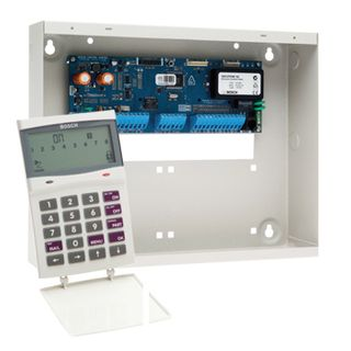 BOSCH, Solution 16i, Alarm kit, Includes CC500 panel, CP510i icon LCD keypad, 4 partitions, 32 users