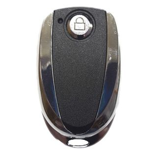 NETDIGITAL, Wireless single button key fob transmitter, Premium stainless case, Suits HCR1 receiver, 433MHz