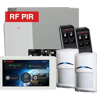 BOSCH, Solution 3000, Wireless Alarm kit, Includes ICP-SOL3-P panel, IUI-SOL-TS5 LCD Touchscreen keypad, 2x RFPR-12 Wireless PIR detectors, B810 Wireless receiver, 2x RFKF-FB transmitters,