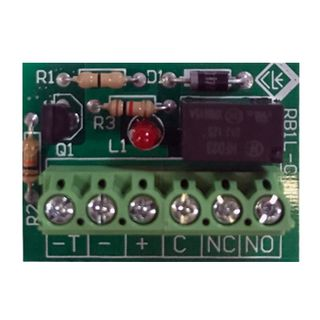 NETDIGITAL, Relay, 12V DC, SPDT, 1A contacts, LED status indicator