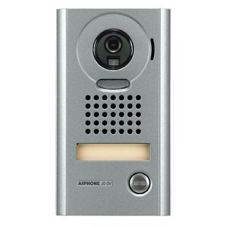 AIPHONE, JO Series, Door station, Video, Colour, Silver, Surface mount, Vandal resistant, Suits JO1MD and JO1FD,