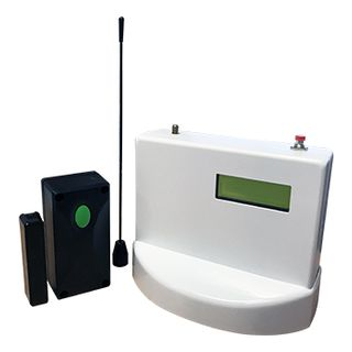 GATEMINDER, Wireless Pool Gate Reed Switch Kit, IP67 rated Reed Switch, 150m range in Open Air, Reciever 9-15V DC, SPDT Relay, 2x C/O relay contacts, 3.6v Lithium Battery,