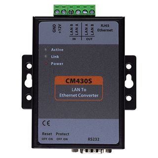 BOSCH, Solution 6000 LAN over IP Converter, transmitter or receiver, maximum of 1 Master & 5 Slaves