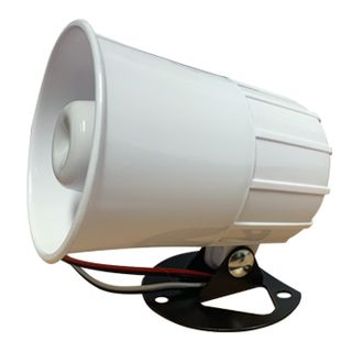 NETDIGITAL, Siren speaker combination unit, Includes reflex horn speaker and 110dB siren,