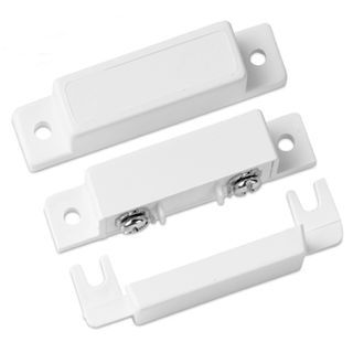 SENTROL, Reed switch, Surface mount, Magnetic contact, NO, 20mm gap, White,