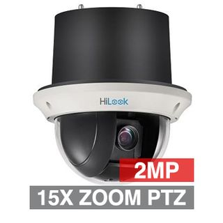 "HILOOK, 2MP HD-IP Inceiling PTZ camera, 15x Zoom (5 - 75mm lens), 2.0MP/Full HD 1080p, 1/2.8"" CMOS, 0.005Lux (sens-up), H.265/H.265+, 12V DC/POE+"