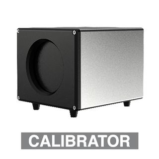 HIKVISION, Body Temp Screening Black Box Calibrator, Ensures correct calibration of Hikvision Body Temp screening cameras, 120mm x 103mm x 170mm, Mains power connector, freestanding or tripod mount.