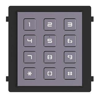 HIKVISION, 8000 Series 2, Modular Door station keypad, Backlit, RS-485, IP65.