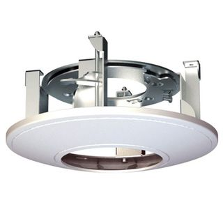 HIKVISION, Ceiling mount adaptor, Suits Hikvision 1743 series domes, Provides in-ceiling mounting