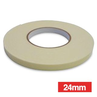 WATTMASTER, Double sided tape, 24mm width, 10m roll,