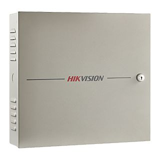 HIKVISION, 4 Door TCP/IP Network access controller, Up to 100,000 users, 26, 34 Bit Wiegand input, 4x relay outputs, 4x Wiegand inputs, 300,000 User event log, works with iVMS-4200,