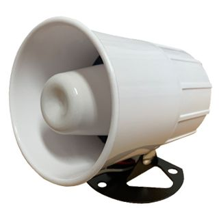 NETDIGITAL, Reflex horn speaker, High powered, White, Includes mounting base, 8 ohm, 15W,