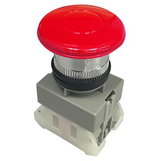 NETDIGITAL, Mushroom head push button, Red