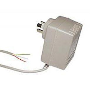POWERMASTER, 48C Series, Power supply, Plug pack, 24V AC, 1 amp, 2.1mm DC plug,