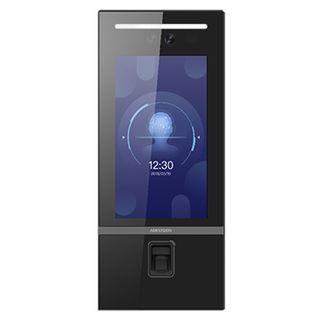 "HIKVISION, Intercom, Gen 2, Video Facial recognition Apartment door station, 5,000 face & finger, 10,000 card (Mifare), HD-IP, 10"" LCD touch screen, 2MP camera, Ultra-wide angle, IP65, 12V DC, 2A,"