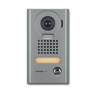 AIPHONE, JP Series, Door station, Video, Colour, Silver, Surface mount, Vandal resistant, Suits JP4MED