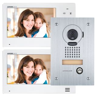 AIPHONE, JO Series, Intercom bundle, Includes 1x JOS1F intercom kit (Master station, flush mount vandal door station & power supply) and 1x JO1FD room substation