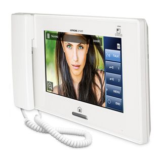 AIPHONE, JP Series, Room station, Sub, Video, Colour, For use with the JP4MED master station, A maximum of 7 sub stations can be used on a JP intercom system