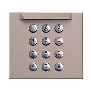 AIPHONE, GT Series, Digital keypad panel, Front cover panel to suit GT10K digital keypad module
