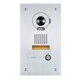 AIPHONE, IS Series, Door station, Video, Colour, Stainless steel plate, Flush mount, Vandal resistant,