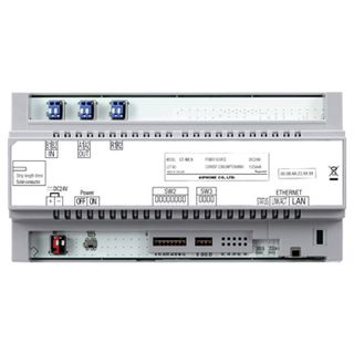 AIPHONE, GT Series, IP module, for connection between buildings, DIN rail