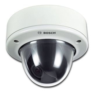 BOSCH, Flexidome AN outdoor 5000, Analogue vandal dome camera, 960H resolution, 18 – 55mm lens, WDR, Day/Night (ICR), IP66, IK10, Tri axis, 12V DC/24V AC