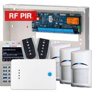 BOSCH, Solution 6000, Wireless alarm kit, Inc CC600PB panel, CP722B Smart Prox LCD keypad, 3x RFPR-12 wireless PIR detectors, 1x RF120 LAN receiver, 2x RF110 transmitters
