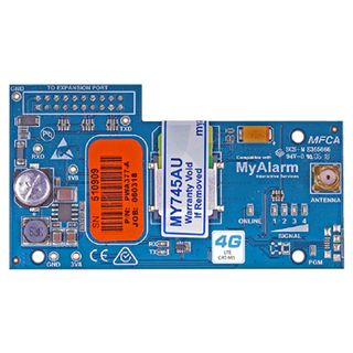 DIGIFLEX, 4G GPRS interface module, Single SIM, CATM1 equivalent, includes Antenna, Suits Solution 6000, requires MyAlarm SIM subscription.
