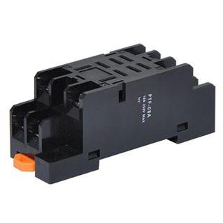 NETDIGITAL, DIN rail mount relay cradle base