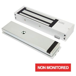 LOX, Electromagnetic lock, Single door, Surface mount, Non-Monitored, 580kg holding force, 4 hour fire rated, SCEC secure area, Full size, 268(L) x 73(H) x 40(D)mm, 12VDC/24VDC, 530/260mA