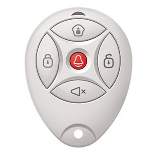 HIKVISION, Axiom Series, Wireless keyfob, Two-way wireless 433MHz, Arm/Disarm/Stay arm/Panic Alarm/Mute, suits AX Series panels