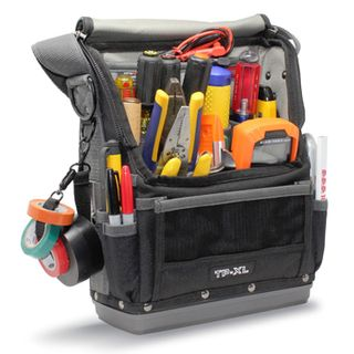 VETO PRO PAC, Tech Series, Medium HVAC technician tool bag, Closed style, 30 vertical tool pockets, Tablet pocket, Magnetic screw catcher, Weather resistant fabric, 254(L) x 165(W) x 330(H)mm