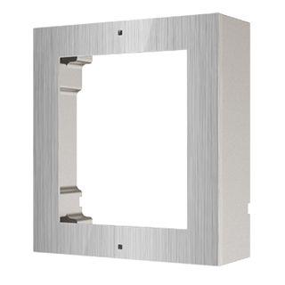 HIKVISION, 8000 Series 2, Modular Stainless Door station back box & frame, Surface mount, 1 module.