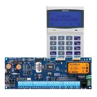 BOSCH, Solution 6000, Control panel PCB (CC600PB) + WHITE key pad (CP700B), Alphanumeric LCD, 144 zone, Touch tone & backlit keys