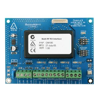 BOSCH, Solution 6000/64/16 Plus/16i, Multi RF receiver interface, Allows up to three wireless RF receivers to be connected to the same panel