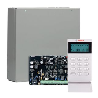 BOSCH, Solution 2000, Alarm kit, Includes ICP-SOL2-P panel, IUI-SOL-ICON LCD keypad