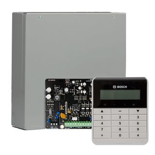 BOSCH, Solution 2000, Alarm kit, Includes ICP-SOL2-P panel, IUI-SOL-TEXT LCD keypad